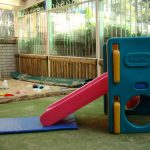 Sue Bowra - Bunnies slide and sandpit